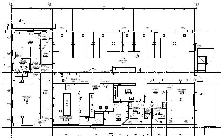 Los Angeles Office Floor Plan Revealed